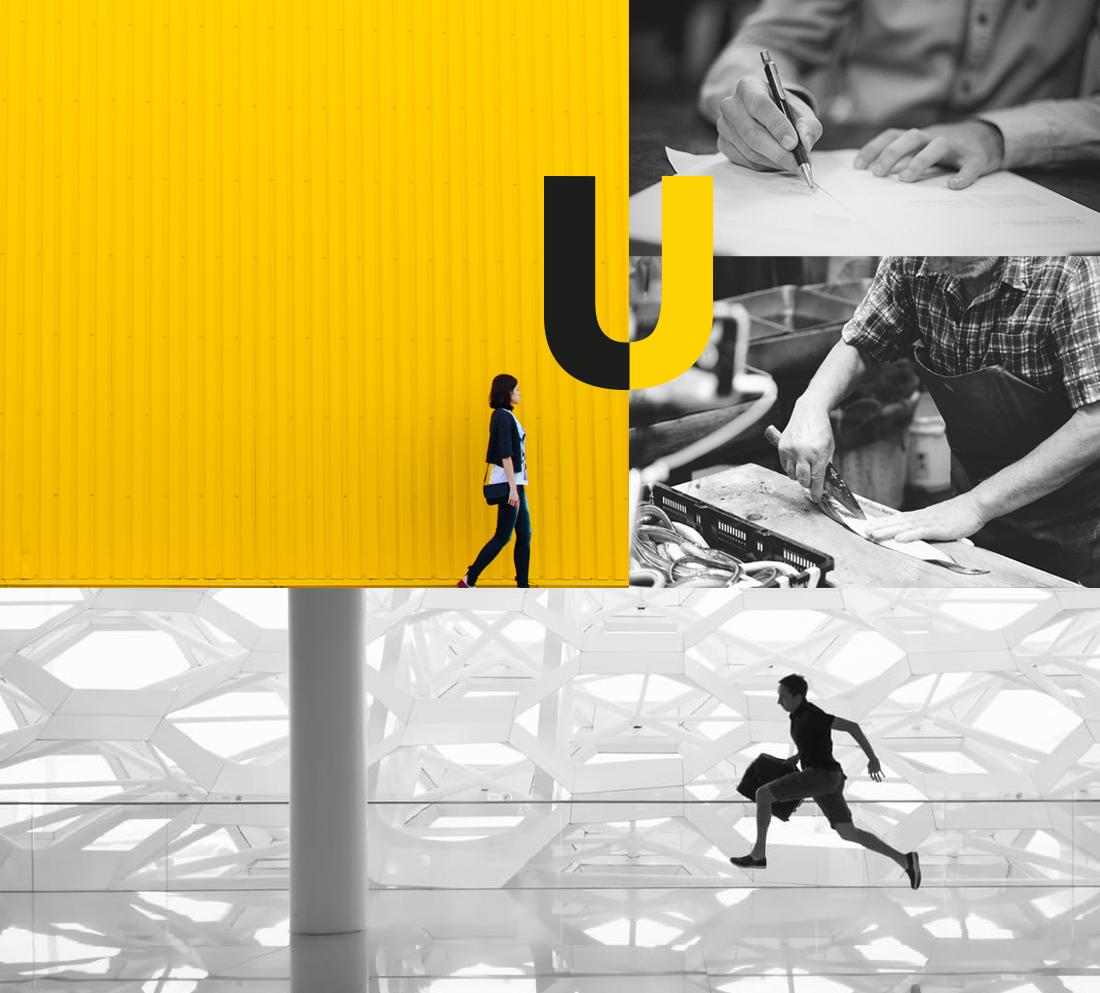 Brand development and digital case study - visual language