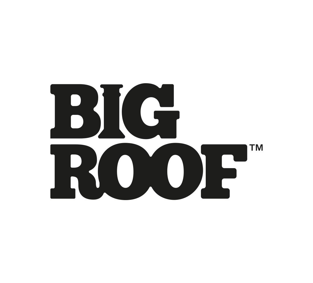 Branding case study - Big Roof logo development