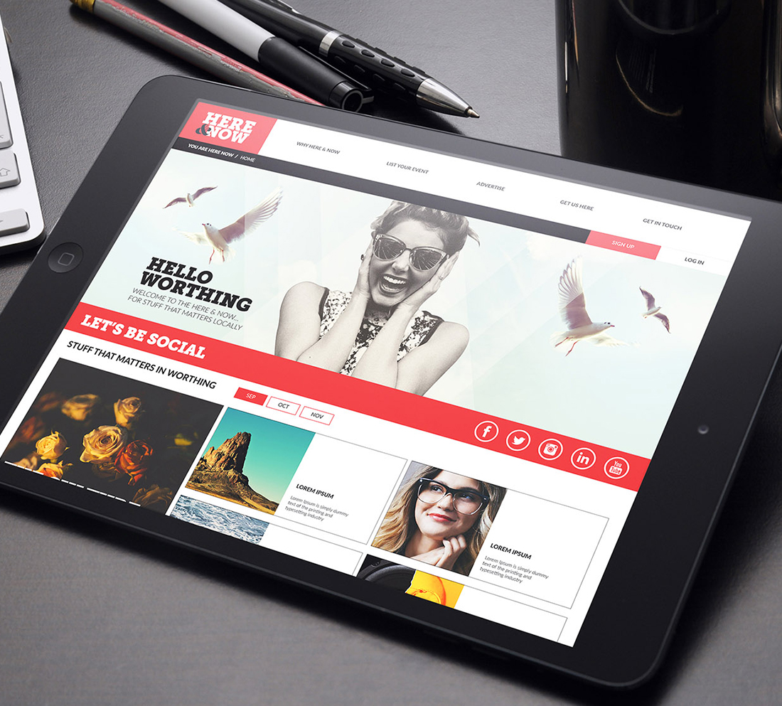Digital, content and brand case study - digital design
