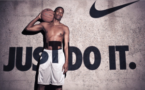 Nike Just Do It ad campaign
